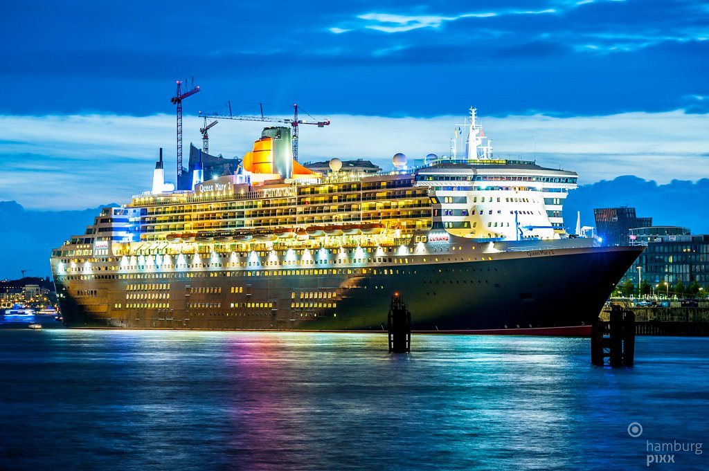 Queen Mary 2 in Kitsch