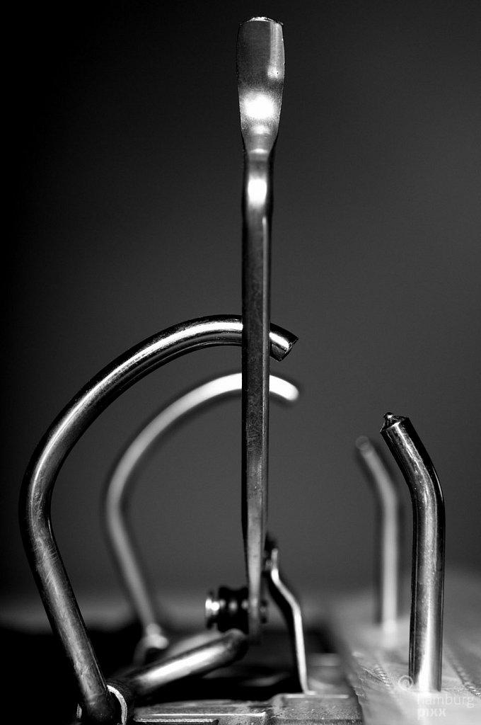 Aktenordner-Mechanik